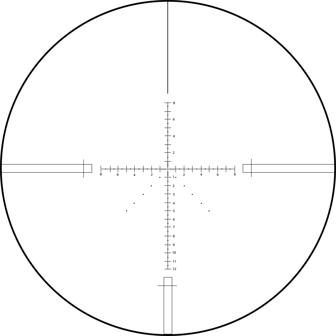 MRAD Reticle